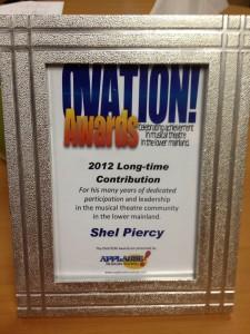 Ovation award